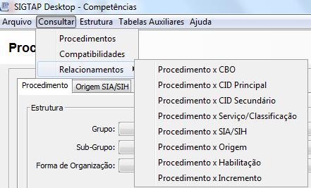 Consultar SIGTAP
