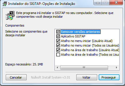 Download SIGTAP - Passo 7