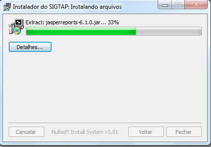 Download SIGTAP - Passo 9