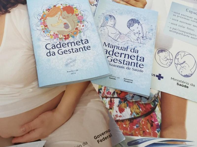 caderneta da gestante pré-natal